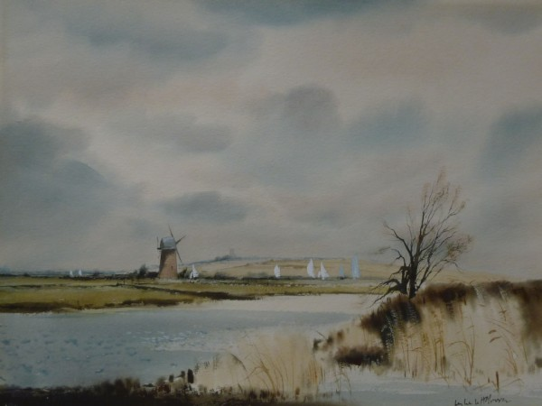 X (SOLD) Thurne from the River Bure
