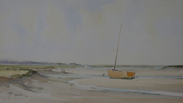 X (SOLD) Awaiting the Tide, Brancaster