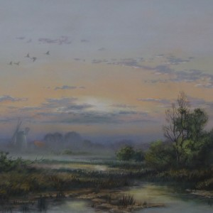 X (SOLD) Morning Mist, Broadland