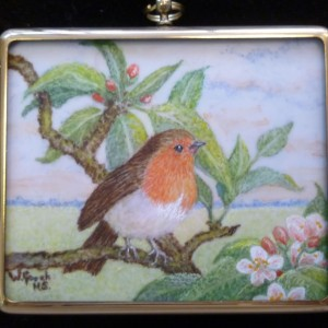 X (SOLD) Spring Morning (Robin)