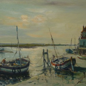 X33 (SOLD) Towards East Hills from the Shipwrights Arms, Wells-Next- The Sea
