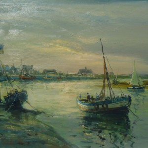 X34 (SOLD) Sunset at Wells Quay