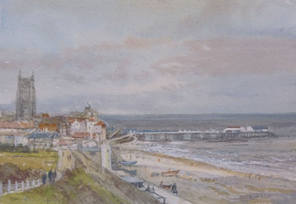X (SOLD) Cromer from the Cliffs (1)