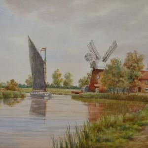 X (SOLD) Hunsett Mill, River Ant near Stalham