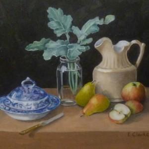 X (SOLD) Fruit, Foliage, Jug and Tureen
