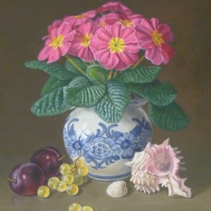 X07 (SOLD) Primrose, Fruit and Shells