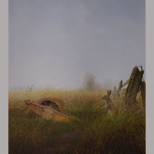 "Signed Limited Print – ""Cambridge Roller"" (Hare)"