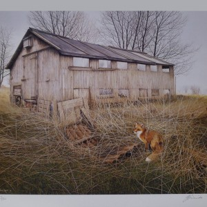 Signed Limited Print – Foxed