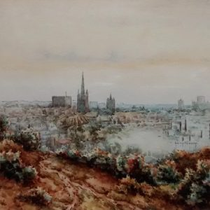 Norwich from Mousehold (no 1)