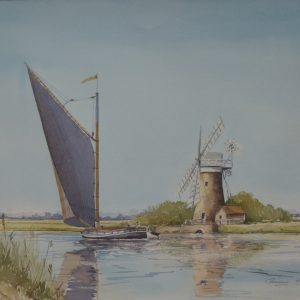 X10 (SOLD) Broadland Wherry and Mill