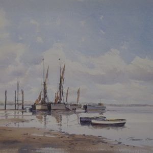 X08 (SOLD) Barges at Low Tide