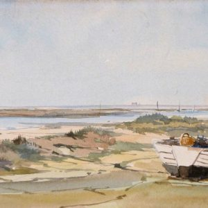 X(SOLD) View to Blakeney Point 1971