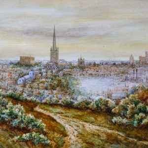 Norwich from Mousehold (no 2)