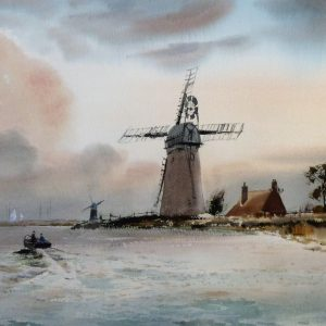 Morning, Stracey Arms Mill, Norfolk