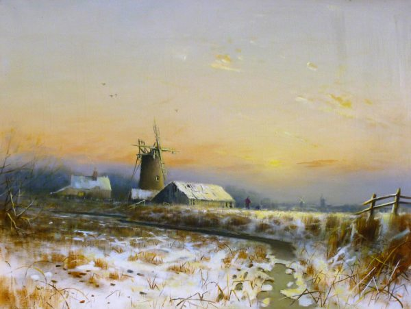 Not for Sale – Broadland Winter Landscape 1982