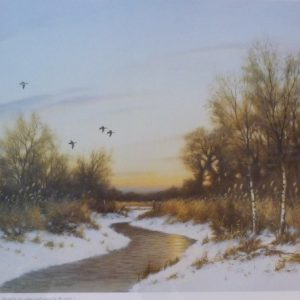 Signed Limited Print – The Winter Dyke