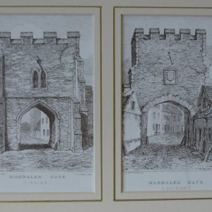 Norwich Gates – Magdalen Gate (inside and out)