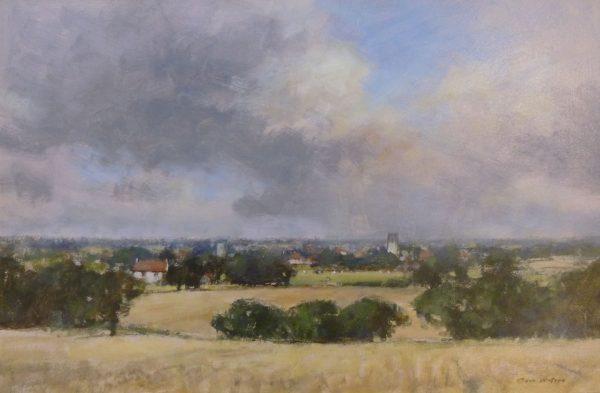 Blofield from Strumpshaw Hill