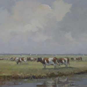 Cows on the Marshes
