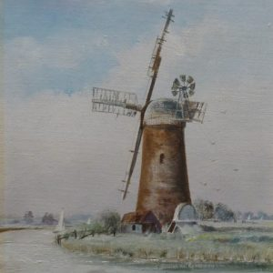 X (SOLD) Derelict Pump Windmill