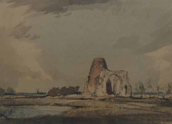 St Benet's Abbey, Norfolk (early work)