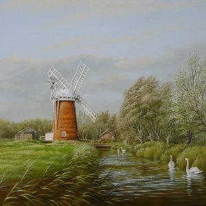 Dyke towards the Mill