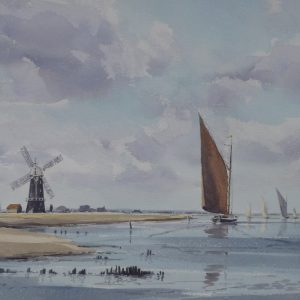 On the Edge of Breydon – Berney Mill and Albion
