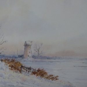 Clippesby Mill in Winter
