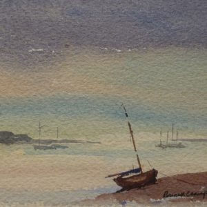 August Evening, Brancaster Staithe, Norfolk 1979
