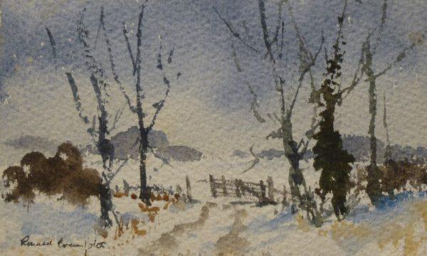Farm Gate in Winter