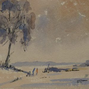 Figures in the Snow 1960