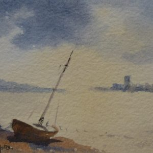 X (SOLD) From Wrabness looking towards Mistley