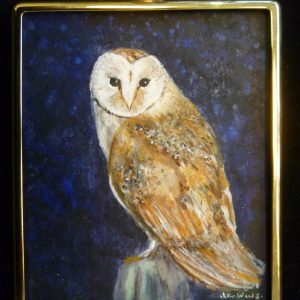 Miniature – Barn Owl