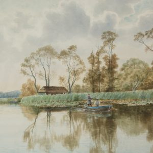 On Ormesby Broad 1900