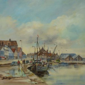 The Quay, Wells-Next-The Sea, 1977