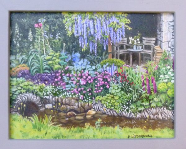 """Tumbling Beck"" The Yorkshire Garden from Chelsea Flower Show 2018"