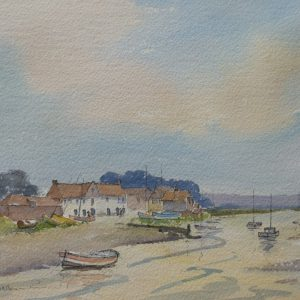 X (SOLD) Summer Evening, Burnham Overy Staithe