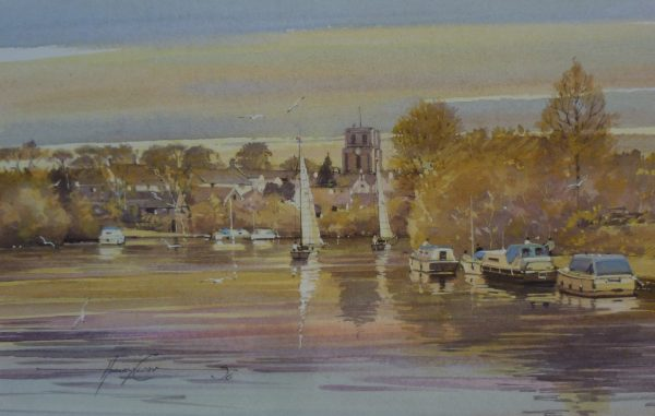Evening on the River, Beccles