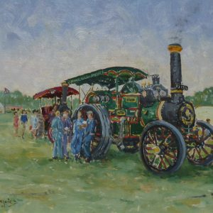 """The Dalesman"" – Burrell Road Locomotive (built in 1912, FJ 1536)"