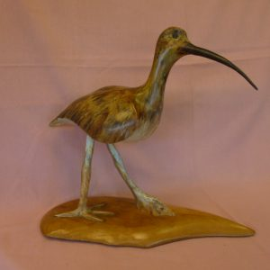 Curlew (Ash with Pyrography finish)
