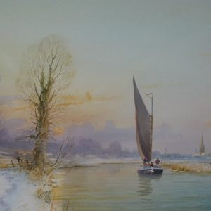 Albion heading to Norwich (Winter's Day)