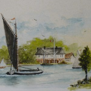 Oulton Broad Wherry