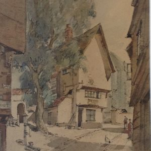 Elm Hill, Norwich (early work)
