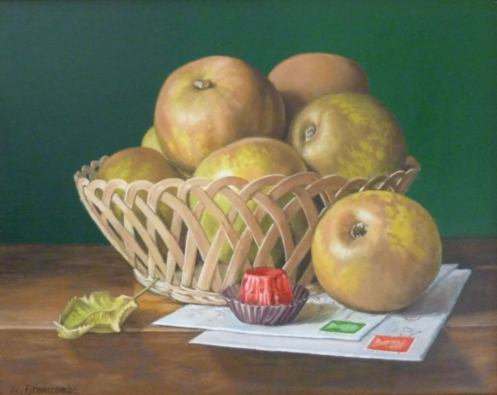 Image result for painting russet apples